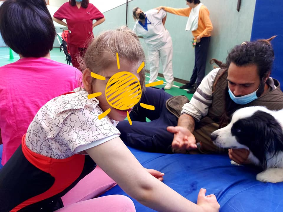 Border Collies del Nahual, Campioni di Pet Therapy